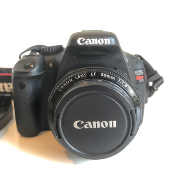 Rent Canon Rebel T2i DSLR Body with Canon EF 50mm f/1.8, two SD Cards, and Tripod
