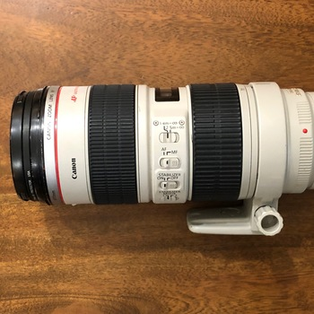 Rent Canon 70-200mm f2.8L (I) with collar mount