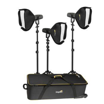 Rent Genaray Torpedo Portable Daylight Focusing 3-LED Light Softbox Kit