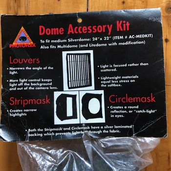 Rent SilverDome Accessory Kit- Louvers, Stripmask and Circlemask