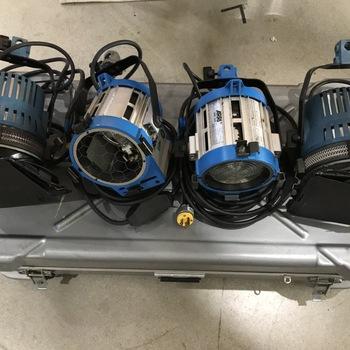 Rent ARRI 650W and 1000W Lighting kit
