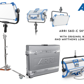 Rent Brand New Arri S-60 Skypanel w/ Rolling Case and Rolling Stand