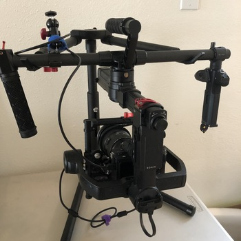Rent DJI Ronin-M with optional Follow Focus, Monitor and more!