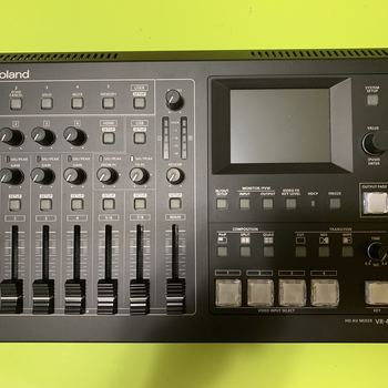 Rent Roland VR-4HD full HD production streaming video switcher/mixer #1