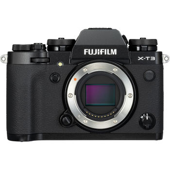 Rent Fuji X-T3 Mirrorless Digital Camera w/ Fringer EF-FX Adapter