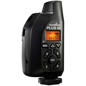 Rent Set of 2 PocketWizard Plus III Transceiver
