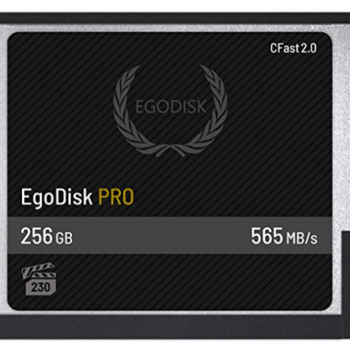 Rent Egodisk 256GB CFast Card