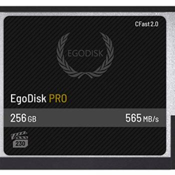 Rent Egodisk 256GB CFast Card
