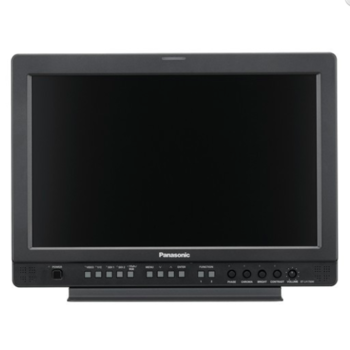 "Rent Panasonic 17"" monitor with case / c-stand / hoodman"