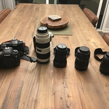 Rent Canon 5D Mark III Kit with 2 Lenses & a Tripod