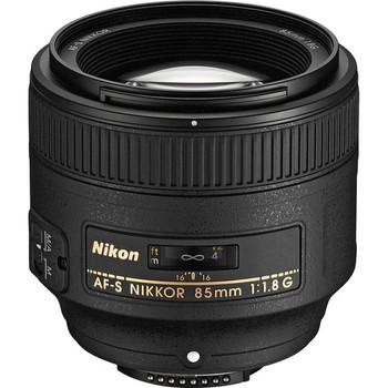 Rent Nikon AF-S NIKKOR 85mm f/1.8G Lens