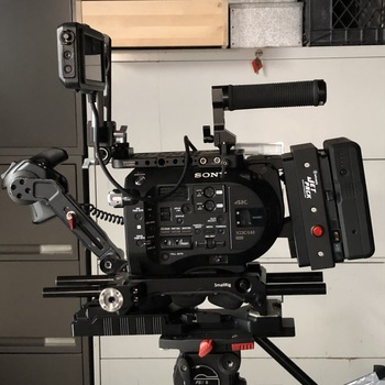 Rent FS7 kit with EF adapter and Lens