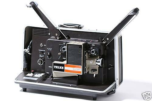 Rent A Telex 16mm Film Projector W/ Sound In Brooklyn | KitSplit