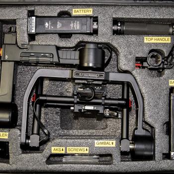Rent DJI Ronin-M 3-Axis Handheld Gimbal with Cinemilled CWS Kit