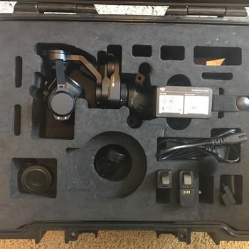Rent DJI Osmo Pro Handheld 3-Axis Gimbal with 4K X5 Camera Kit