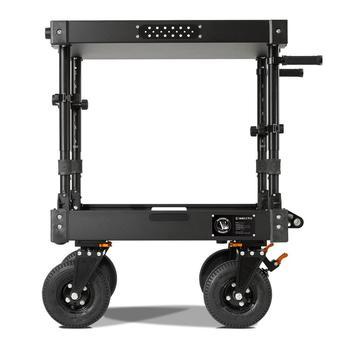 "Rent  Inovativ Voyager EVO Equipment Cart 36"" X-Top Shelf + 10"" EVO Wheel Upgrade"
