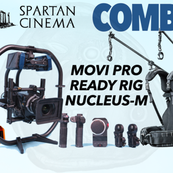 Rent MoVI Pro + Ready Rig + Nucleus M Pro Arms 2x Motors TB50 Batteries Combo
