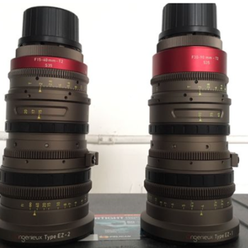 Rent Angenieux EZ-1 30-90mm T2 & EZ-2 15-40 T2 Zooms