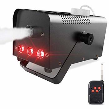 Rent 400W Wireless Fog Machine - Remote Control with Built-in Multi-Color LED Lights