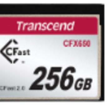 Rent Transcend CFX650 256GB CFast 2.0 Flash Memory Card