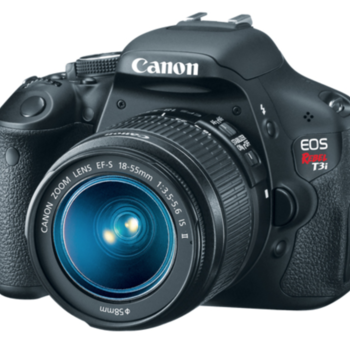 Rent Canon T3i with kit lens