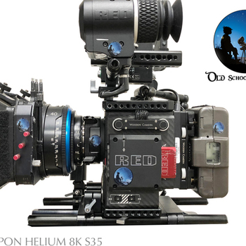 Rent RED WEAPON HELIUM 8K S35 W/ LCD OR EVF W/ ZEISS SUPER SPEED KIT, 4 BATTS AB MOUNT, W/ ACCESSORIES