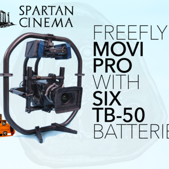 Rent MoVI Pro + 6x TB50 Batteries + Deluxe Hardware #1