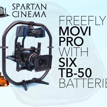 Rent MoVI Pro + 6x TB50 Batteries + Deluxe Hardware #1