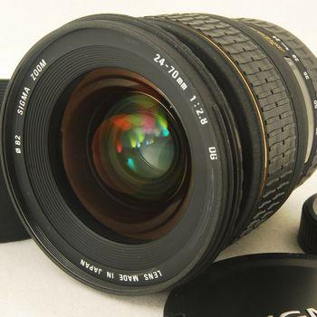 Rent Sigma 24-70mm f/2.8 EX DG Lens