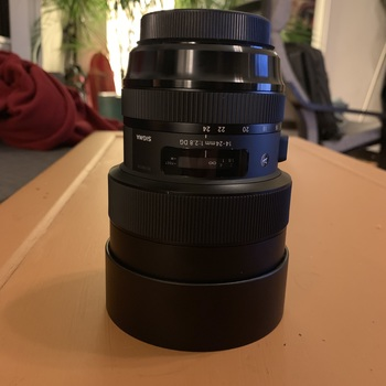 Rent Sigma 14-24mm f/2.8 DG HSM EF Art Lens