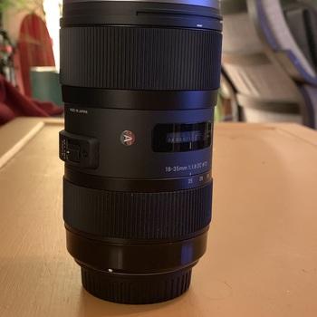Rent 18-35mm f/1.8 DC HSM EF zoom Art Lens