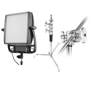 Rent Litepanels Astra 1x1 6x Bi-Color LED [Softbox, Grid, Stand]