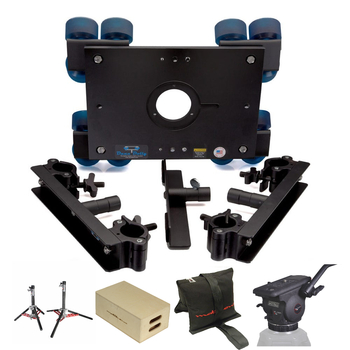 Rent Dana Dolly PRO KIT [100mm Head, SpeedRail, Apple Boxes]