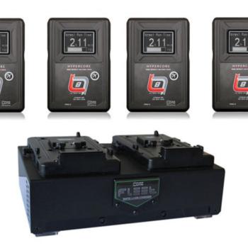 Rent Core SWX SLIM HC8 V-Mount Batteries [Dual Charger]