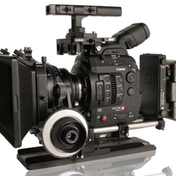 Rent Canon C300 MK II PL CINEMA KIT [AB Plate + Batts + FF]