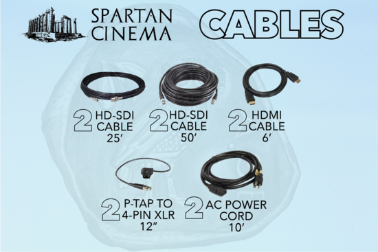 2x smallhd 2403 hdr cables