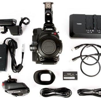 Rent Canon C300 MK II EF / PL Mount BASIC KIT