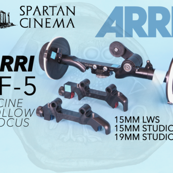 Rent ARRI FF-5 Cine Follow Focus Pro Set  with 15mm + 19mm Rod Adapters