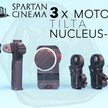 Rent Tilta Nucleus-M + 3x Motors #1 Wireless Lens Control FIZ