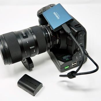 Rent Blackmagic Pocket 4k Full Shooting Package