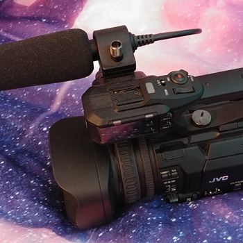 Rent JVC 4K/HD Prosumer camera with handle/shotgun mic attachments