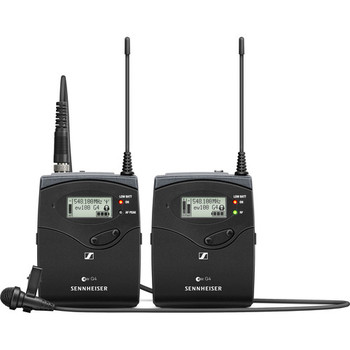 Rent Sennheiser EW 112P G4 – A1 Omni-directional Wireless Lavalier Microphone System