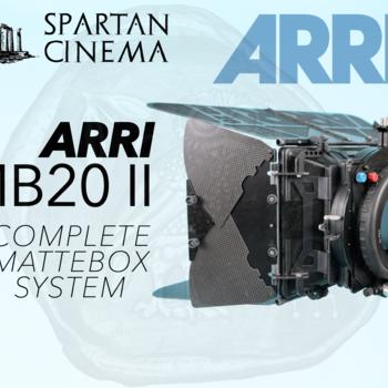 Rent ARRI MB-20 II Studio Mattebox + Hard Matte Set (2 Stage)