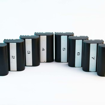 Rent 8x Canon LP E6 Batteries + Charger