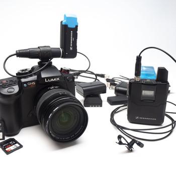 Rent GH5s + Wireless Lavalier Basic Interview Bundle