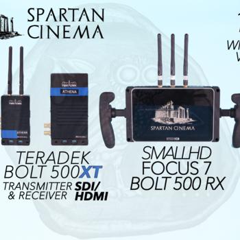 Rent SmallHD FOCUS 7 Bolt Monitor + Bolt 500 XT Transceiver [1:2] Wireless Video #1