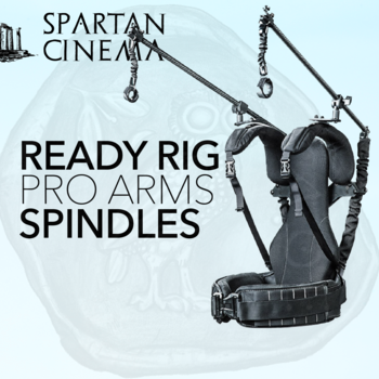 Rent Ready Rig GS + Pro Arms & Spindles #1 Gimbal Support