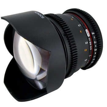 Rent Rokinon 14mm t3.1 (f2.8 Equivalent) GORGEOUS LENS! EF-Mount