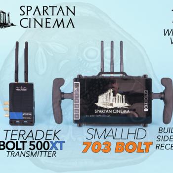 Rent SmallHD 703 Bolt + Teradek Bolt 500 XT Transmitter #2