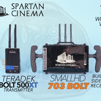 Rent SmallHD 703 Bolt + Teradek Bolt 500 XT Transmitter #1 Wireless Video